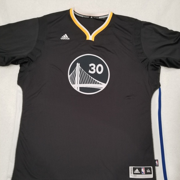 brand new 23716 2e549 Adidas Stephen Curry Golden State Warriors 3XL NEW